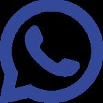 whatsapp blauw